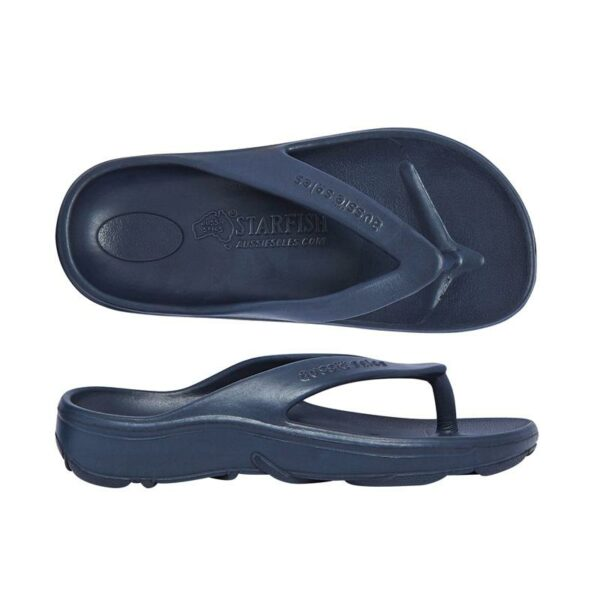 Navy Support Arch Orthotic Thong